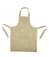 Cooking gray apron.