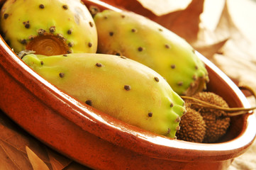 prickly pear fruits