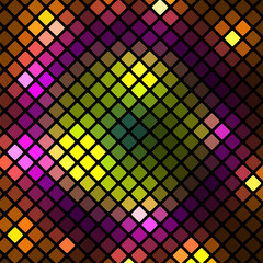 abstract geometric background.design of colored rectangles.mosai