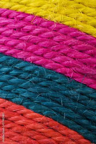 Multicolored threads