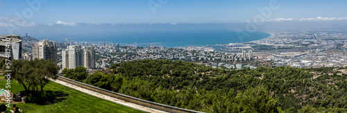 Haifa from above