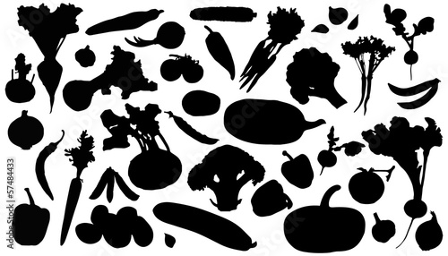 vegetables_silhouettes