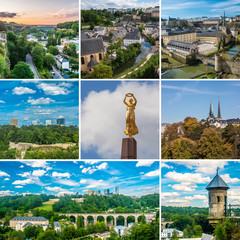 Luxembourg  collage
