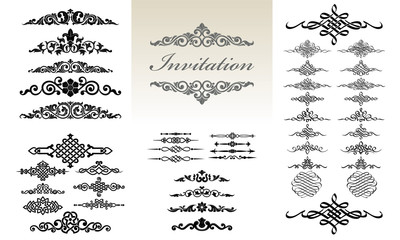 Calligraphic & Ornament Design Set