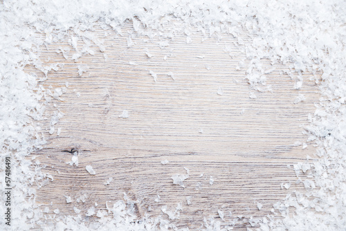canvas print picture Hintergrund mit Schnee
