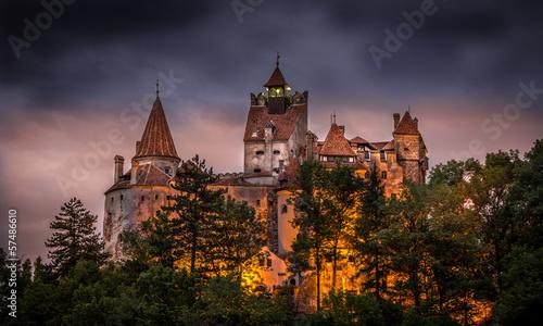 Fotobehang Kasteel Bran castle