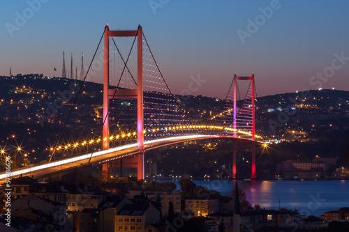 Zdjęcia na płótnie, fototapety, obrazy : Bosphorus Bridge, Istanbul