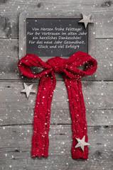 Weihnachtskarte für Geschäftskunden und Mitarbeiter