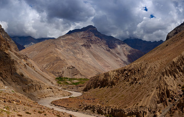 Spiti river, Himachal Pradesh, India