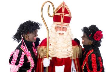 Sinterklaas with Zwarte Piet