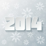 Happy new year 2014 design