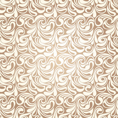 Abstract beige seamless pattern. Vector illustraion.