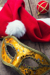 carnival,new year's mask and decoration