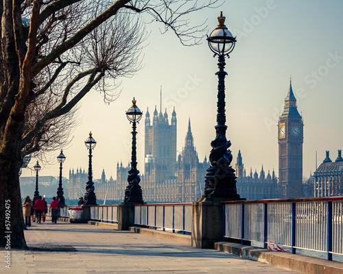 Papiers peints Londres Big Ben and Houses of parliament, London