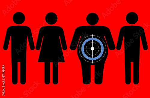 Diabetes targeting overweight people