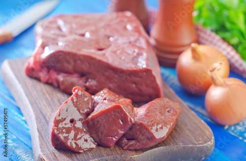 raw liver on board