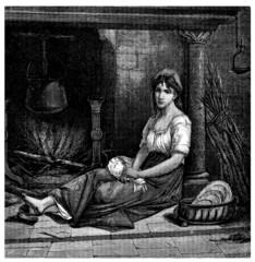 Young Servant - Cinderella - Cendrillon