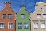 Historical tenement house - Gdansk, Poland poster