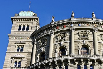 Bundeshaus in Bern, Schweiz