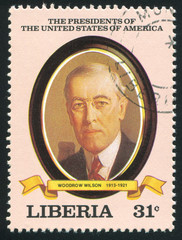 President of the United States Woodrow Wilson
