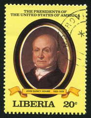 President of the United States John Q. Adams