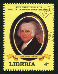 President of the United States John Q. Adams