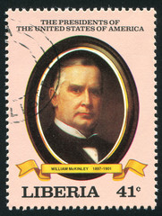 President of the United States William McKinley