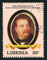 President of the United States Grover Cleveland