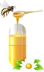 Медовые витамины,вектор