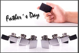 Hand Holding a Lighter fathers day set