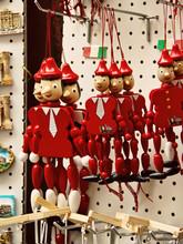 Pinokio marionetki i pamiątki z Rzymu magnesy
