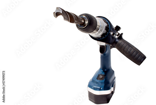 Battery Powered Drilling Machine With Driill Bit