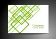Bright green vector design