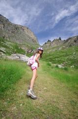 randonnée dans les alpes - savoie