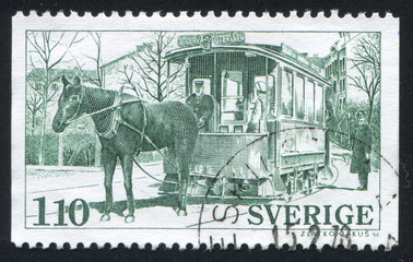 Horse drawn Trolley