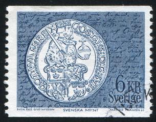 Gustavus Vasa silver daler