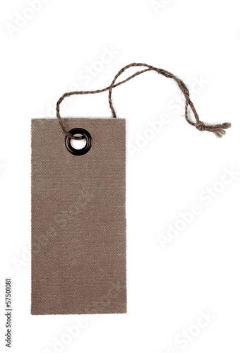 tag label isolated on white background