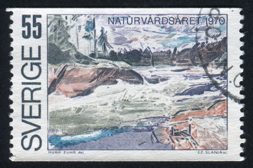 Ljusman River Rapids