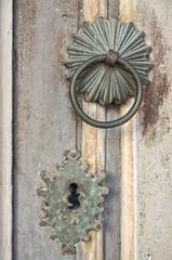 Old door decoration