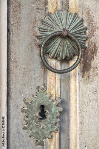 Old door decoration