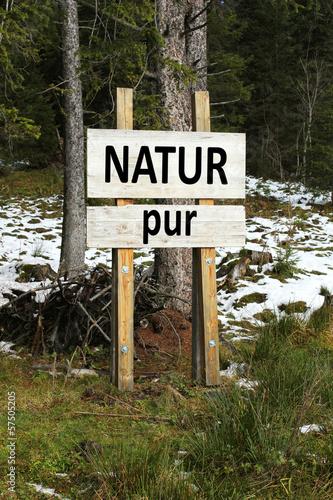 Natur pur...