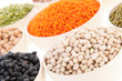 Assortment legumes