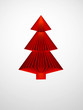 symbolic 3d Christmas tree