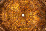 Mosaic ceiling of the Baptistery of Florence