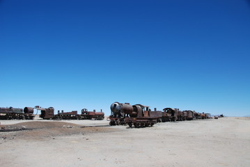 Trains in Bolivia, Uyuni