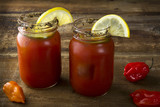Mason Jar  Bloody Marys
