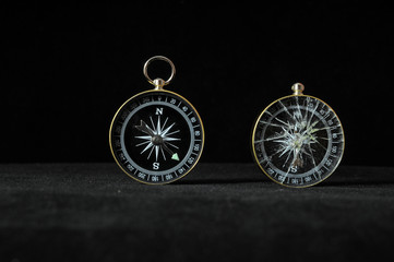 Compass Indicating Differents Directions