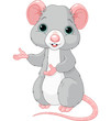 Cute Cartoon Rat