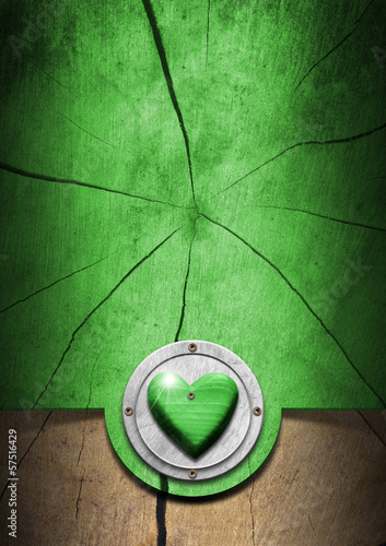 Eco Wooden Background