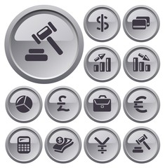 Finance button set